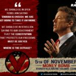 Rand Paul 5th of November Money Bomb