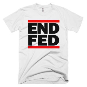 End The Fed Shirt Ron Paul Run DMC