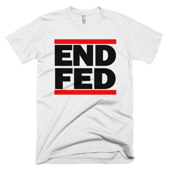 End The Fed Shirt Ron Paul Run DMC