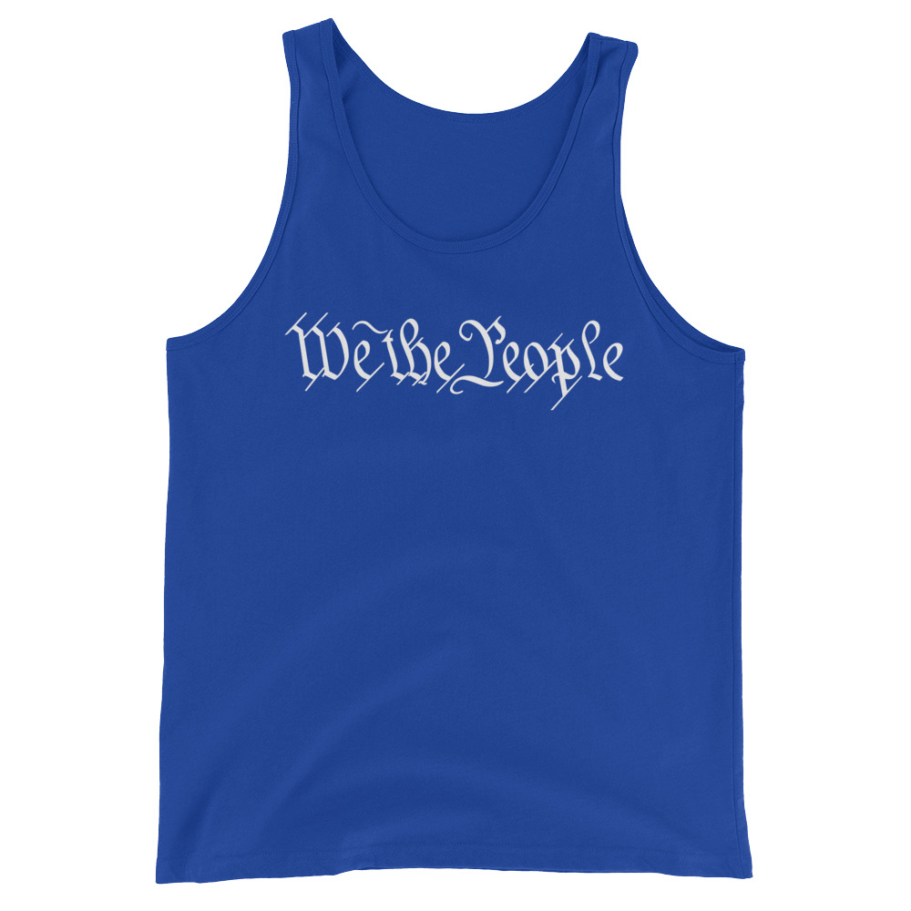 We_The_People_Tank_Top - Blue
