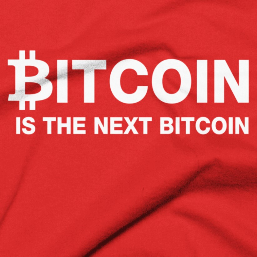 Bitcoin Is The Next Bitcoin T-Shirt